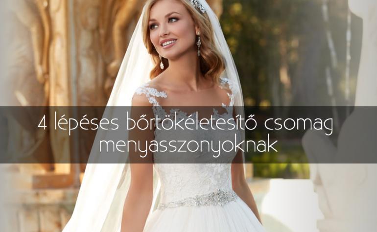 4 lépéses bőrtökéletesítő csomag menyasszonyoknak