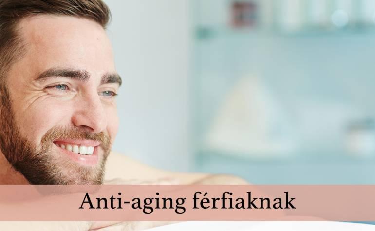 Anti-aging férfiaknak
