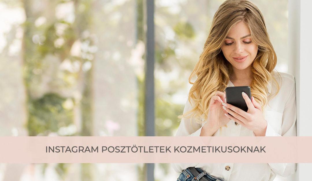 Instagram posztötletek kozmetikusoknak